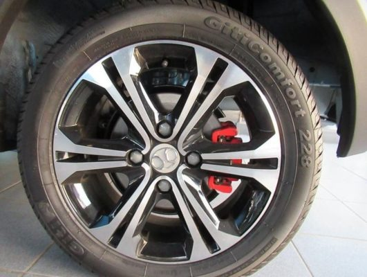 2020 BAIC X25 wheel