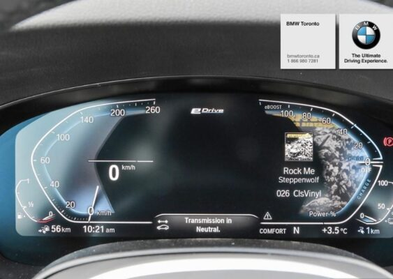 2020 BMW xDriver iPerformance Plugin-Hybrid information cluster-2