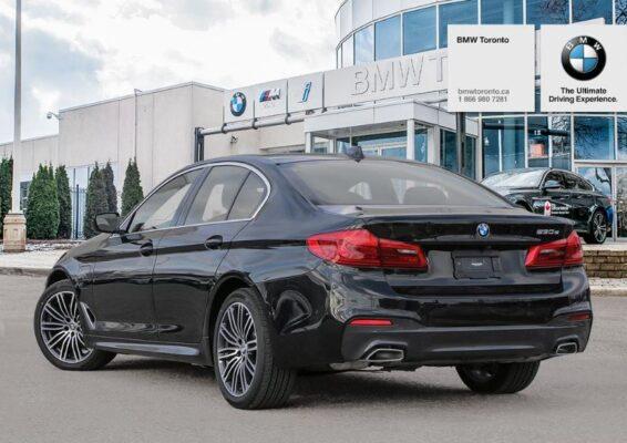 2020 BMW xDriver iPerformance Plugin-Hybrid rear view black