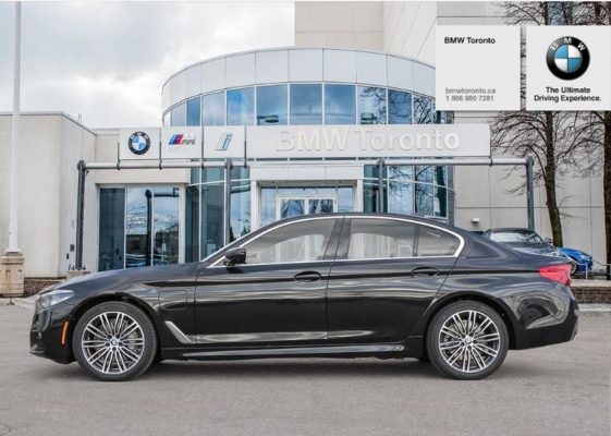 2020 BMW xDriver iPerformance Plugin-Hybrid side view black