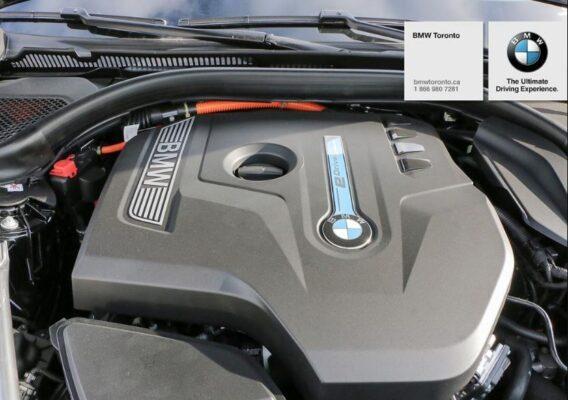 2020 BMW xDriver iPerformance Plugin-Hybrid under the hood