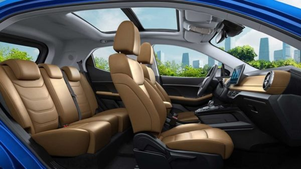 2020 BYD Yuan EV 535 full interior view and seats