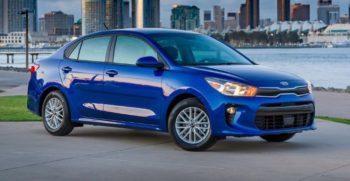 2020 KIA Rio Sedan Feature Image