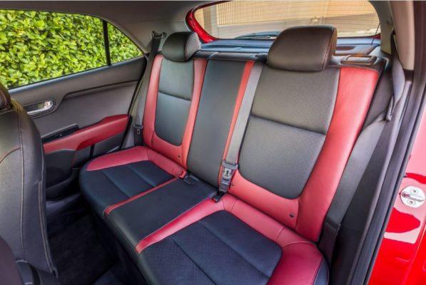 2020 KIA Rio Sedan Rear Seats View