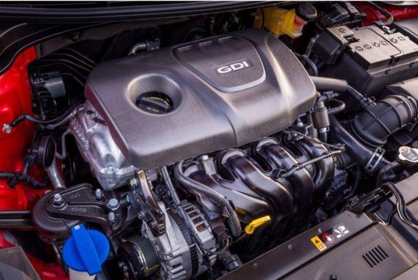 2020 KIA Rio Sedan engine View