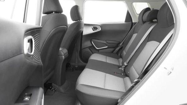 2020 KIA Soul Rear Seats