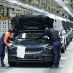 2020 Polestar 2 - All Electric car by Volvo entered into its production phase in Luqio China factory