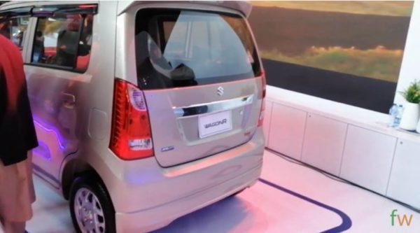 2020 Suzuki Wagon R Rear View