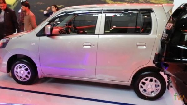 2020 Suzuki Wagon R Side View