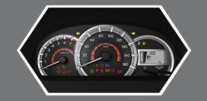 2020 Toyota Avanza 2nd Generation information meters
