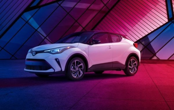 2020 Toyota CHR Side View