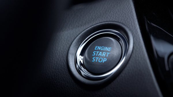2020 Toyota CHR engine Start Stop button