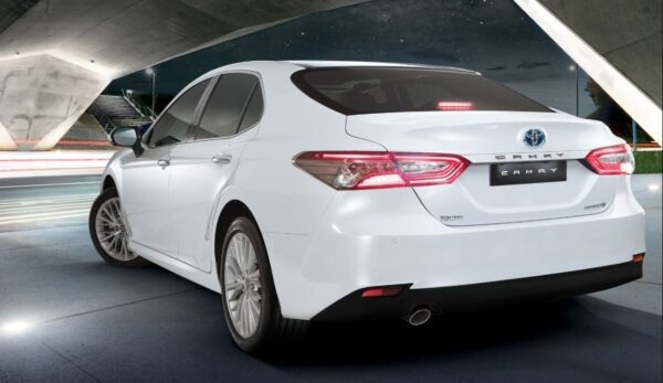 2020 Toyota Camry Hybrid Rear View