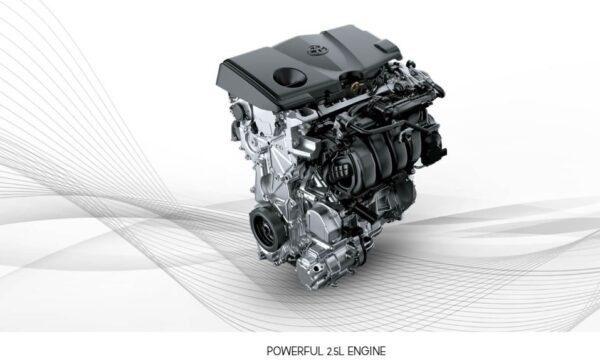 2020 Toyota Camry Hybrid engine