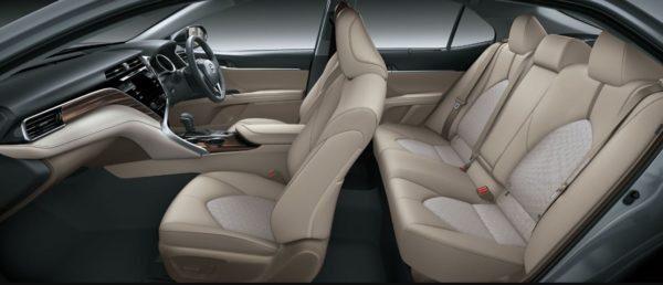 2020 Toyota Camry Hybrid full interior view