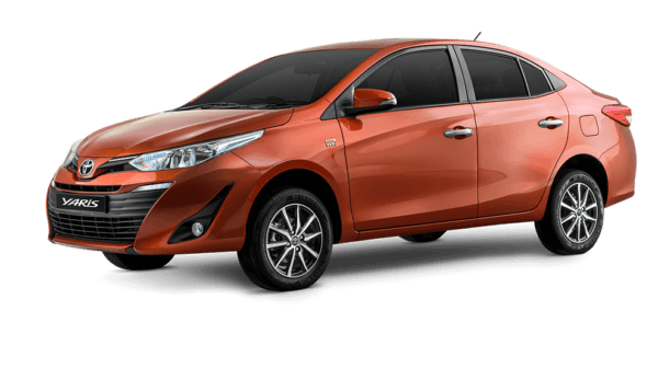 2020 Toyota Yaris Full and Side view