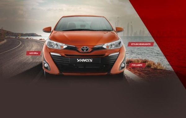 2020 Toyota Yaris front view
