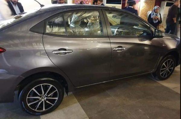 2020 Toyota Yaris full side view
