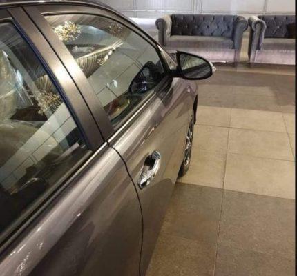 2020 Toyota Yaris side view