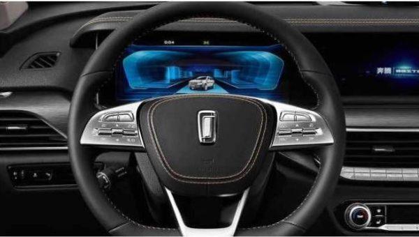 2020 Xiaomi Bestune T77 SUV Steering Wheel & information Cluster