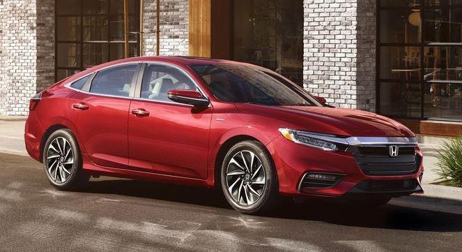 2021 Honda Insight Metallic Red