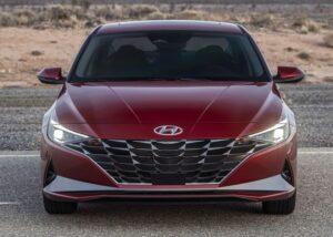 2021 Hyundai Elantra front view