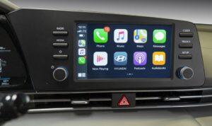 2021 Hyundai Elantra infotainment Screen