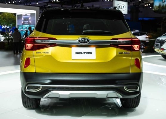 2021 KIA Seltos Rear View