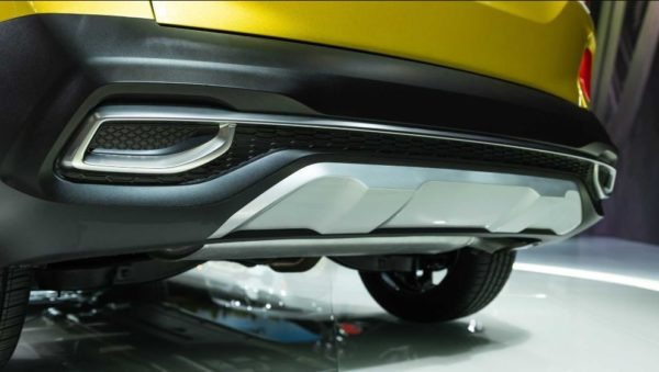 2021 KIA Seltos Rear bumper view
