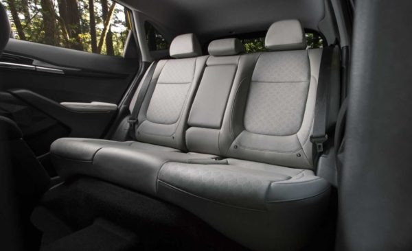 2021 KIA Seltos rear seats view