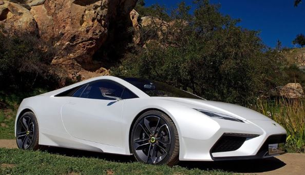 2021 Lotus Esprit V6 Hybrid Side View