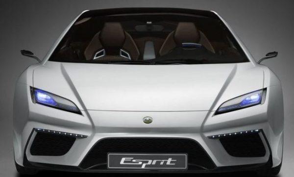 2021 Lotus Esprit V6 Hybrid front view