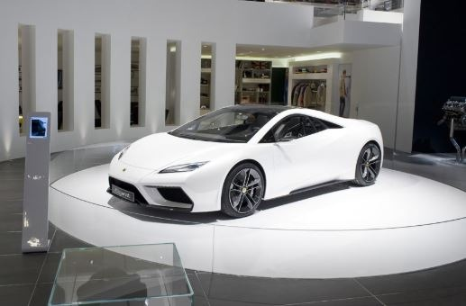 2021 Lotus Esprit V6 Hybrid full view