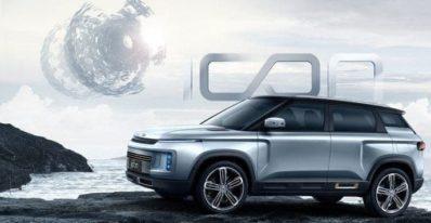 Chinese automaker Geely unveils anti-coronavirus SUV Icon