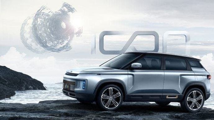 Chinese automaker Geely unveils anti-coronavirus SUV Icon