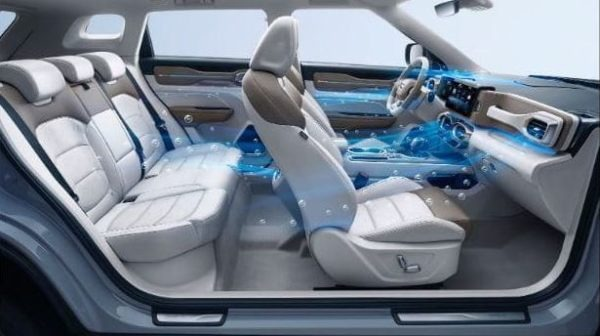 ICON SUV with Air Purification System against Corona