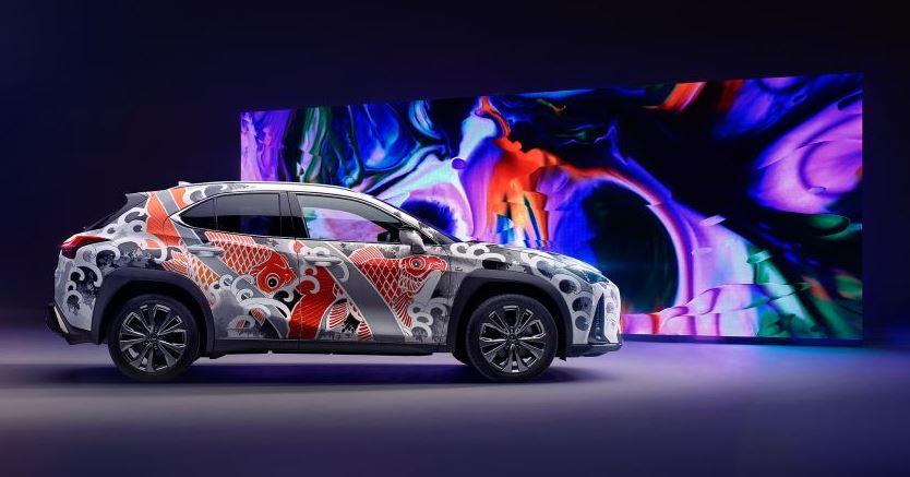 Lexus Tattoed car - Tribute to takumi craftsmanship