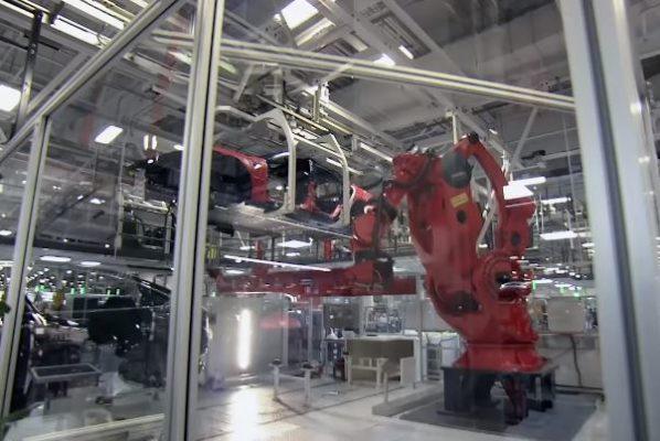 Tesla's FANUC 2000-IA 900 Robots