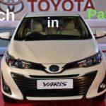 Toyota Yaris Sedan will soon Launch in Pakistan   New competitor to Honda's City & Aspire Variants
