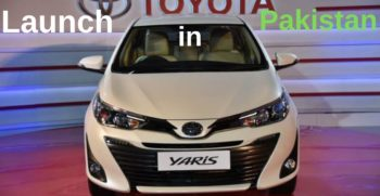 Toyota Yaris Launch in Pakistan