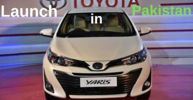 Toyota Yaris Launch in Pakistan