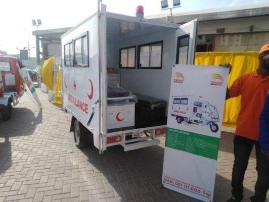 crown Electric Loader Ambulance