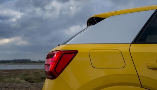 2020 Audi Q2 Rear Side View