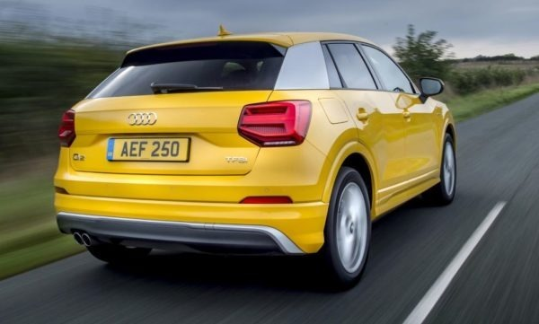 2020 Audi Q2 Rear View