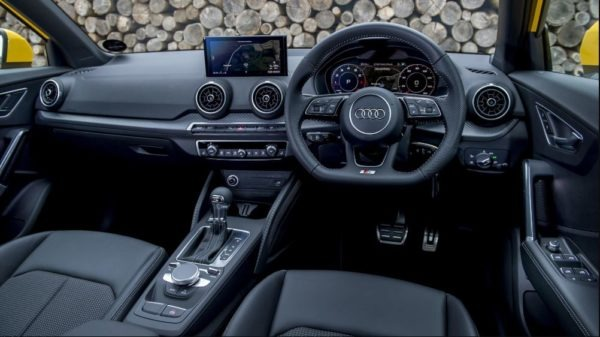 2020 Audi Q2 front cabin interior view full