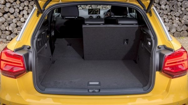 2020 Audi Q2 luggage area view