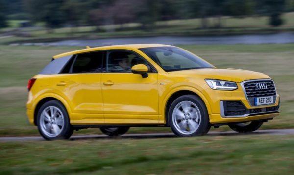 2020 Audi Q2 side view