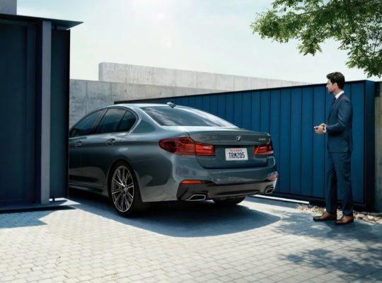 2020 BMW 5 Series Rear View 2