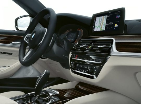 2020 BMW 5 Series interior aesthetics