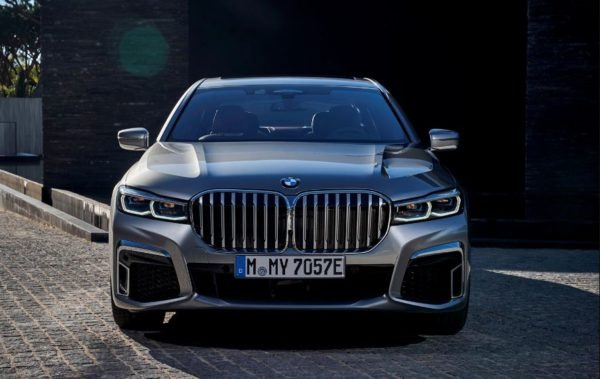 2020 BMW 7 Series Front View